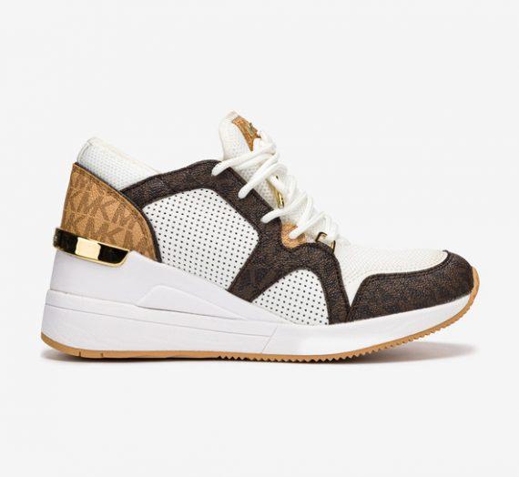 Обувки > Спортни обувки Michael Kors Liv Trainer Спортни обувки Byal 715234