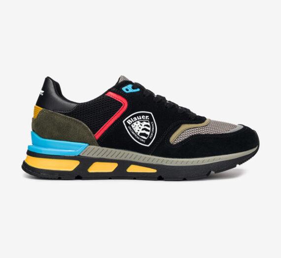 Обувки > Спортни обувки Blauer Hilo 01 Спортни обувки Cheren Mnogotsveten 752796