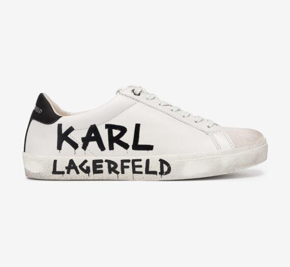 Обувки > Спортни обувки Karl Lagerfeld Skool Brush Logo Спортни обувки Byal 775260