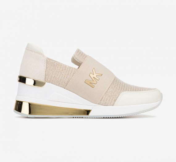 Обувки > Спортни обувки Michael Kors Felix Trainer Спортни обувки Zlaten Bezhov 979338