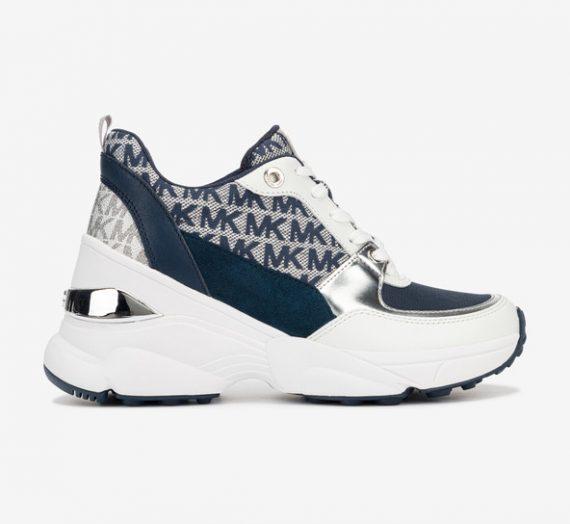 Обувки > Спортни обувки Michael Kors Mickey Trainer Спортни обувки Sin Byal 979345