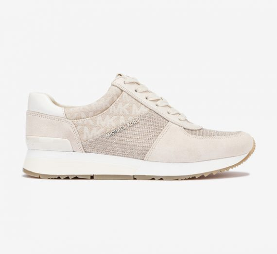 Обувки > Спортни обувки Michael Kors Allie Trainer Спортни обувки Byal Bezhov 985854