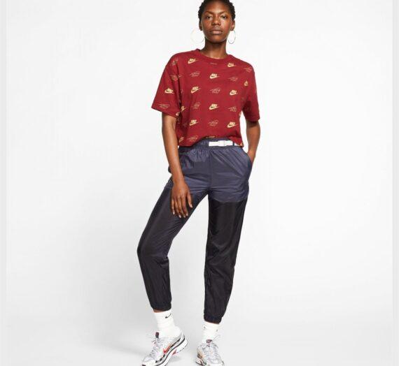 Жени  Дамско облекло  Блузи  С къс ръкав Nike Shine Crop T Shirt Ladies 1035343-6279477