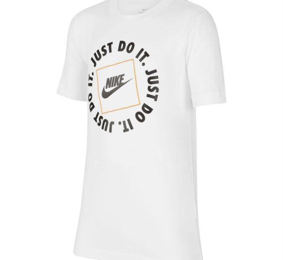 Мъже  Мъжко облекло  Блузи & Блузи с яка  С къси ръкави Nike Just Do It Box Tee 111763-8112709