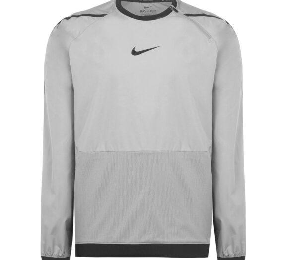 Мъже  Мъжко облекло  Суичъри  Суичъри без качулка Nike Pro Men's Long-Sleeve Top 1130540-6743053
