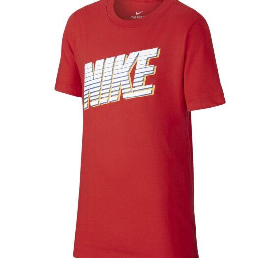 Деца  Облекло за момчета  Блузи  С къс ръкав Nike Sportswear Big Kids' T-Shirt 1213988-6807745