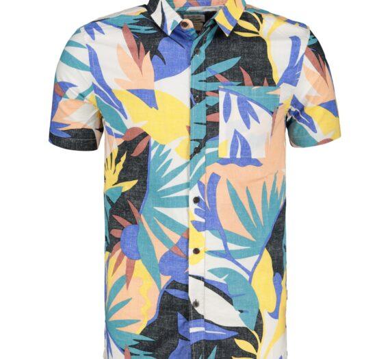 Мъже  Мъжко облекло  Ризи  Ризи с къси ръкави Men's shirt QUIKSILVER TROPICAL 1230527-6888571