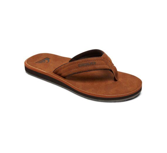 Мъже  Мъжки обувки  Чехли и джапанки  Джапанки Men's flip-flops Quiksilver CARVER NUBUCK 1243149-6943046