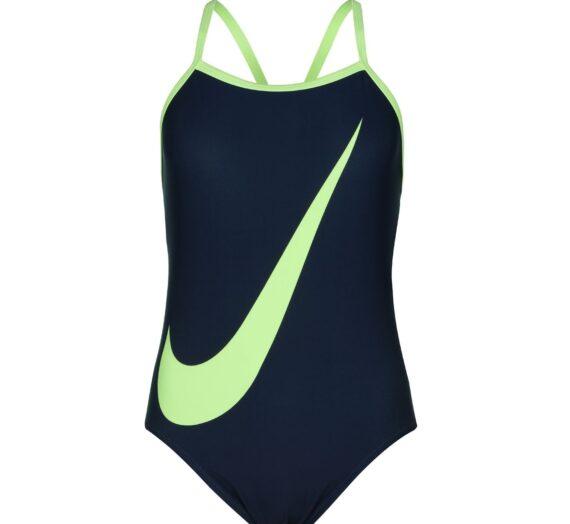 Спортове  Водни спортове  Дамски бански  Бански от една част Nike Swoosh Tank Swimsuit Ladies 1283851-7145863