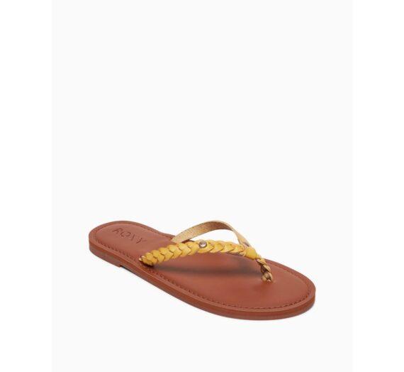 Жени  Дамски обувки  Чехли & Джапанки  Чехли Women's flip-flops Roxy LIVIA 1313910-7263259
