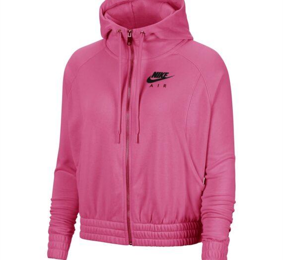 Жени  Дамско облекло  Суичъри  Суичъри с качулка Дамски суичър Nike Air 1325221-7307667