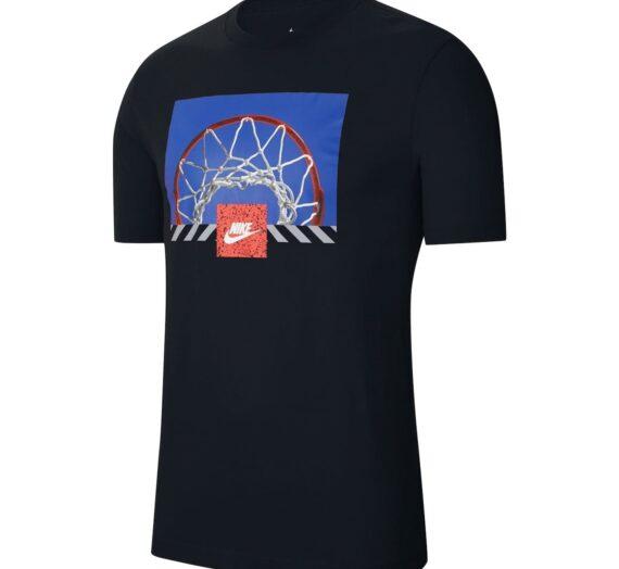 Мъже  Мъжко облекло  Блузи & Блузи с яка  С къси ръкави Nike NSW Print T Shirt Mens 1413651-7654635