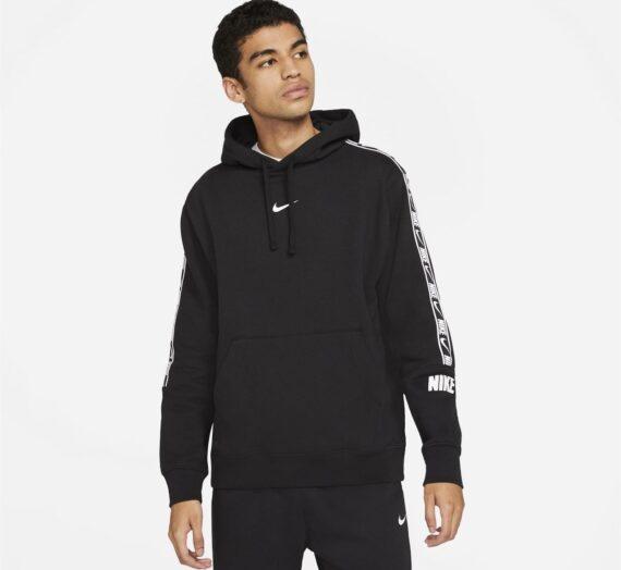 Мъже  Мъжко облекло  Суичъри  Суичъри с качулка Nike Sportswear Repeat Fleece Pullover Hoodie Mens 1429840-7707654