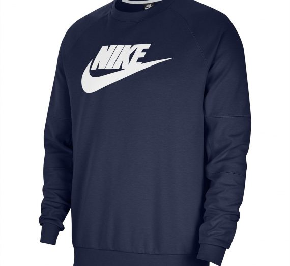 Мъже  Мъжко облекло  Суичъри  Суичъри без качулка Nike Sportswear Fleece Crew Neck Sweatshirt 1437290-7738648