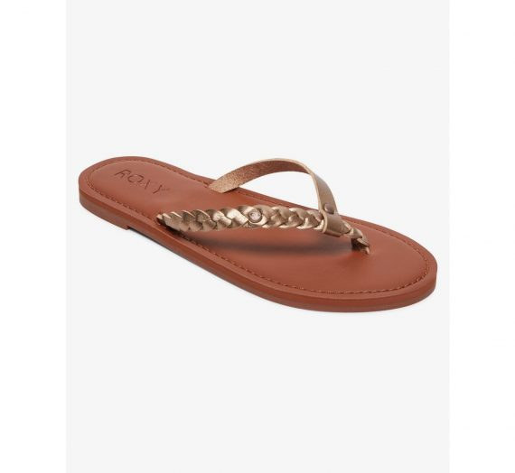 Жени  Дамски обувки  Чехли & Джапанки  Чехли Women's flip flops Roxy LIVIA 1474221-7861739