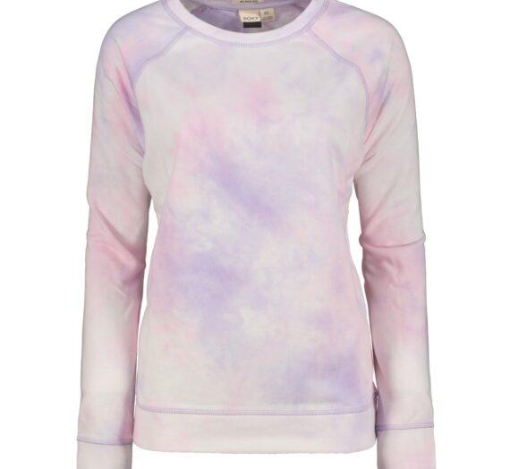 Жени  Дамско облекло  Суичъри  блузи без яка Women's sweatshirt Roxy DIVE DEEP 1474254-7861811