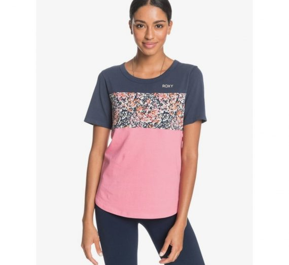 Жени  Дамско облекло  Блузи  С къс ръкав Дамска тениска Roxy RODEO DRIVE PARTY 1474313-7861950