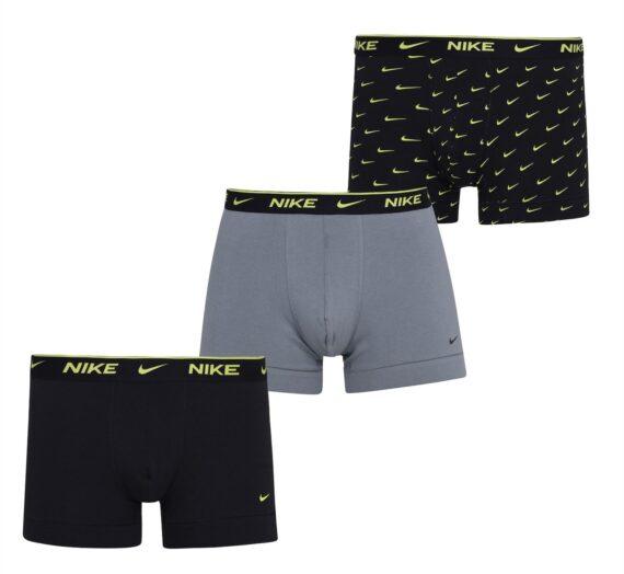 Мъже  Мъжко облекло  Бельо  Боксерки и шорти Nike 3 Pack Boxer Trunks Mens 1549995-8120345