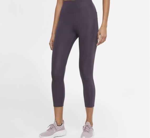 Спортове  Бягане  Облекло  Облекло дамско  Leggings Nike Fast Women's Cropped Running Leggings 1600407-8289053