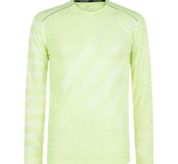 Мъже  Мъжко облекло  Суичъри  Суичъри с цип Nike Tech Knit Long Sleeve T Shirt Mens 244517-1729375