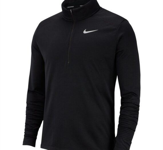 Мъже  Мъжко облекло  Блузи & Блузи с яка  Спортни тениски Nike Half Zip Core Long Sleeve Running Top Mens 288085-2020367