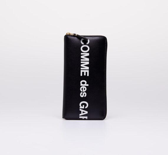 Портфейли Comme des Garçons Huge Logo Wallet Black 303200