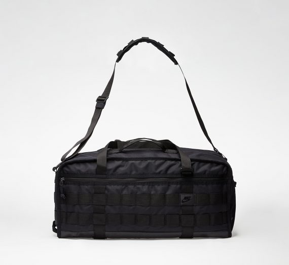 Crossbody чанти Nike Sportswear Duffel Bag Black/ Black/ White 439438