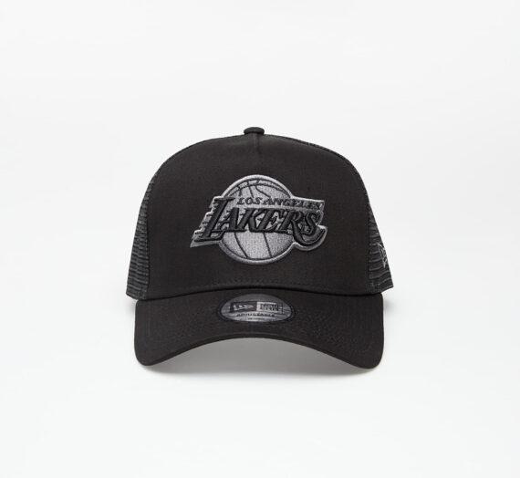 Шапки New Era Cap 9Forty Af Trucker Nba Bob Team Logo Los Angeles Lakers Black/ Black 633325