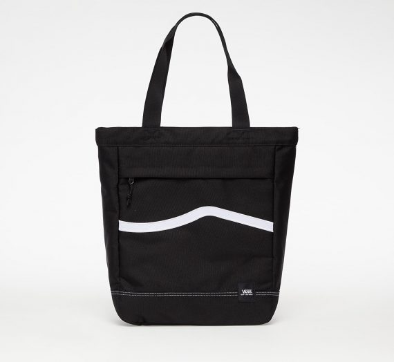 Crossbody чанти Vans Construct Tote Bag Black/ White 648973