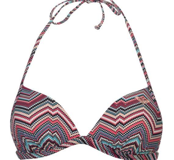 Жени  Дамско облекло  Цели бански & Половинки  Бански горнища Roxy Print Triangle Bikini Top Ladies 681561-4057849