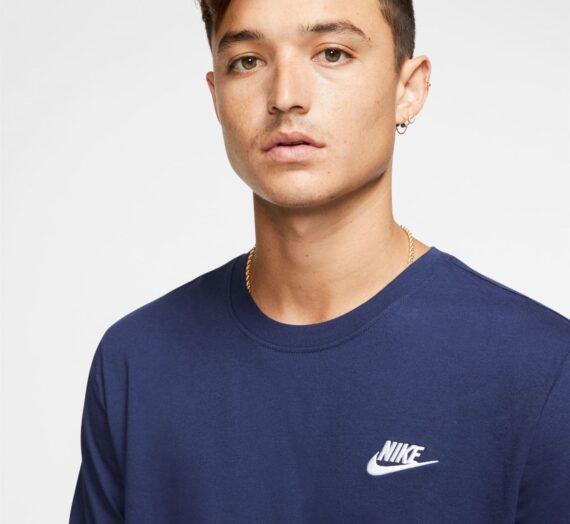 Мъже  Мъжко облекло  Блузи & Блузи с яка  С къси ръкави Nike Sportswear Club Men's T-Shirt 728375-4355553