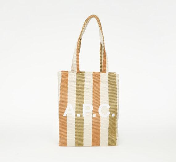 Crossbody чанти A.P.C. Lou Tote Bag Kaki 745783