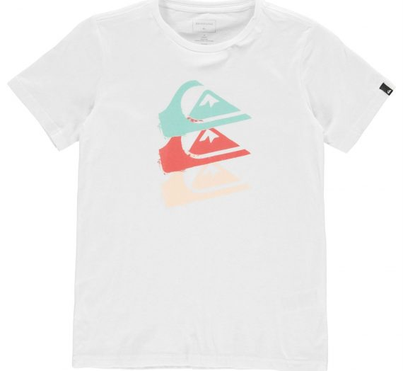 Деца  Облекло за момчета  Блузи  С къс ръкав Quiksilver Jaw Sides T Shirt Junior Boys 771617-4798431