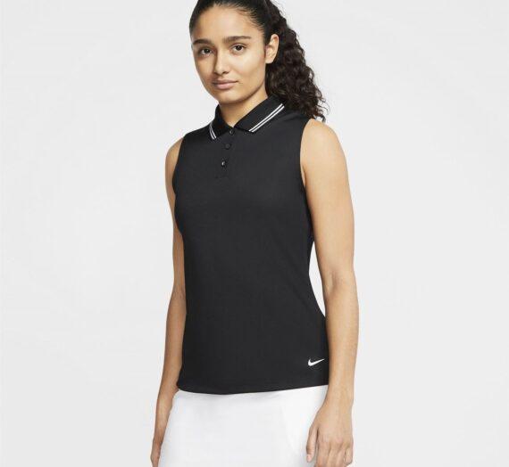 Спортове  Голф  облекло  Дамско облекло  горнища Nike Dri-FIT Victory Women's Sleeveless Golf Polo 794765-5067323
