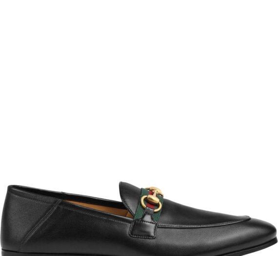 Leather Loafer мъжки обувки Gucci 831240903_7