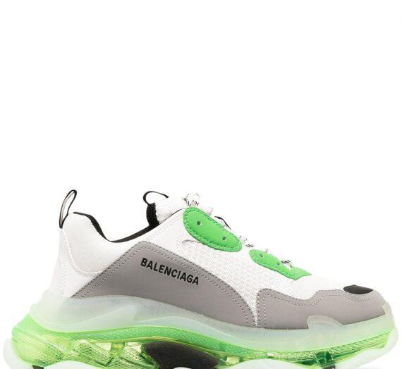 Triple S Clear Sole мъжки обувки Balenciaga 833747701_39