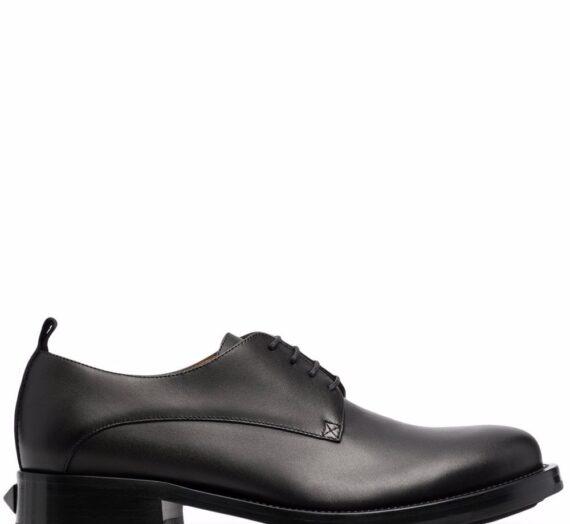 Leather Derby Shoes мъжки обувки Valentino Garavani 836076100_39