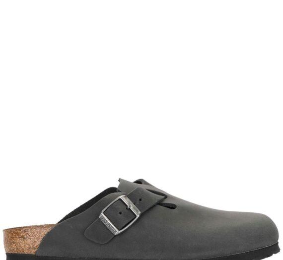 Boston Leather Slippers дамски обувки Birkenstock 840288444_36