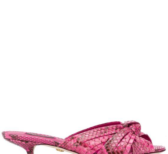 Leather Sandals дамски обувки Dolce & Gabbana 840298321_36