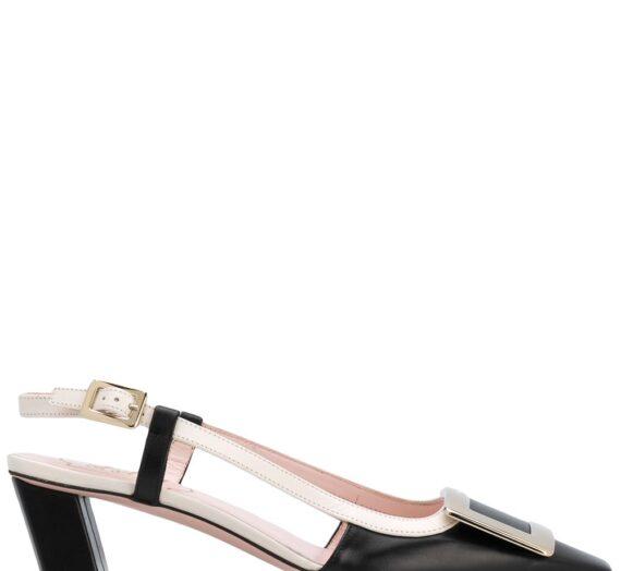 Belle Vivier Leather Slingback Pumps дамски обувки Roger Vivier 840816579_40