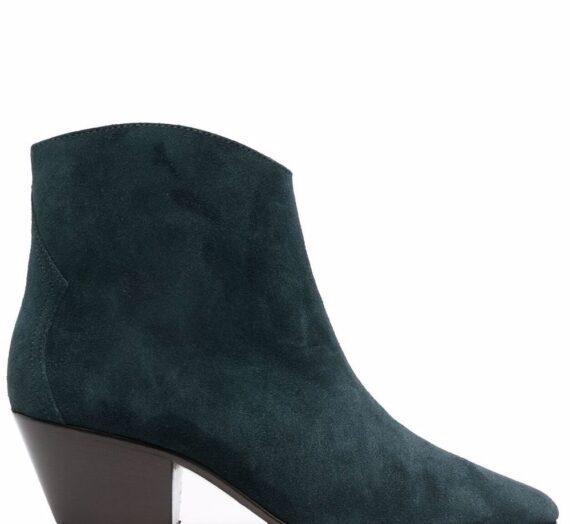 Dacken Leather Boots дамски обувки Isabel Marant 841004286_35