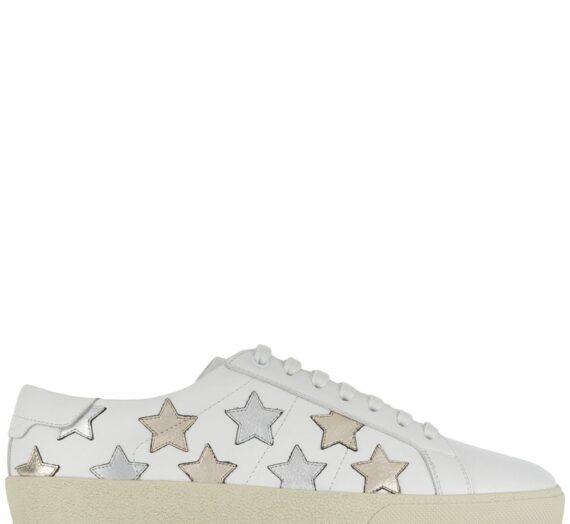 Star Leather Sneakers дамски обувки Saint Laurent 841354456_35_5