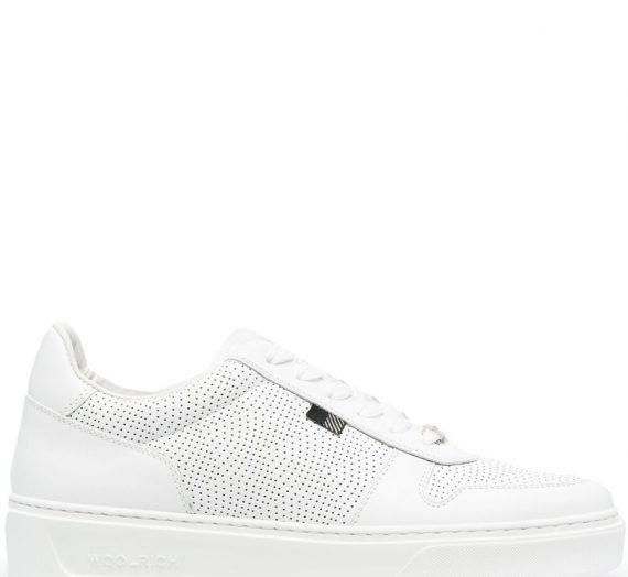 Leather Sneakers дамски обувки Woolrich 841479297_36