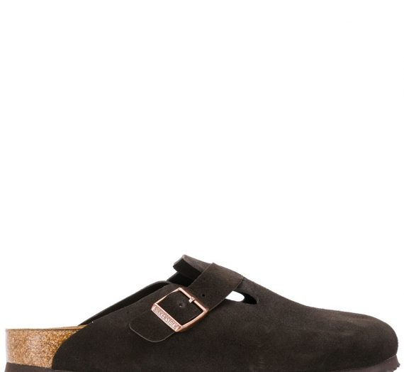 Boston Suede Leather Slippers дамски обувки Birkenstock 841481407_35