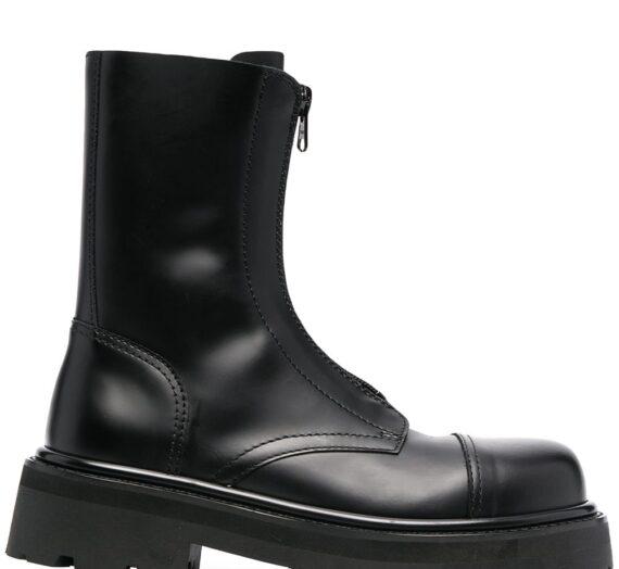 Leather Combat Boots дамски обувки Vetements 841508906_36