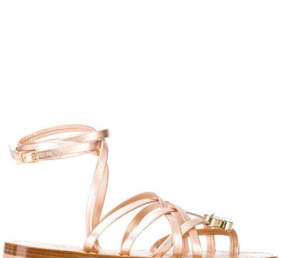 Leather Sandals дамски обувки Emanuela Caruso 841556428_36_5