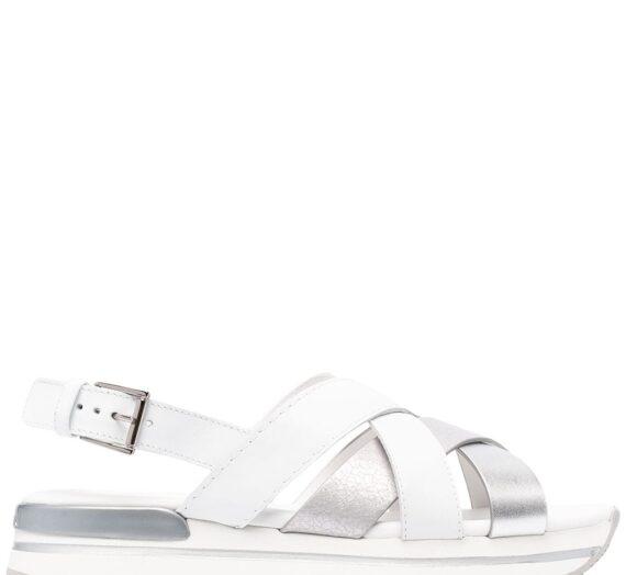 H222 Leather Sandals дамски обувки Hogan 841572456_35