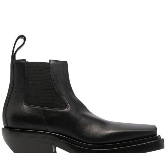 The Lean Leather Ankle Boots дамски обувки Bottega Veneta 841952765_38_5