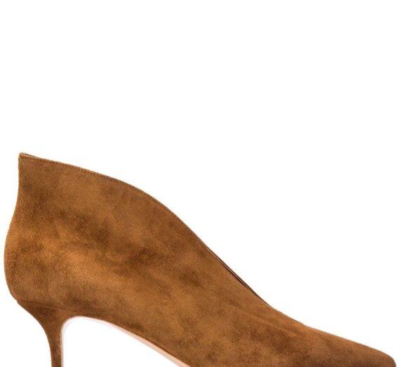 Suede Leather Pumps дамски обувки Gianvito Rossi 842279595_36
