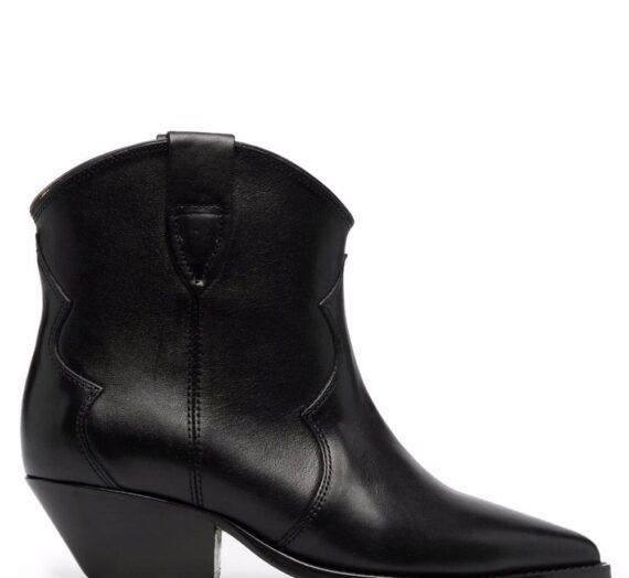 Dewina Leather Ankle Boots дамски обувки Isabel Marant 842558360_35